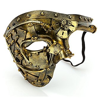 Masque Steampunk 'avenir', or