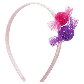 buttinette Haarreif 'Bonbon', rosa