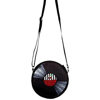 buttinette Schallplatten-Tasche, schwarz