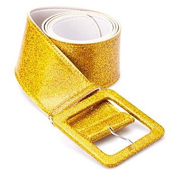 Gürtel 'Glitter', gold