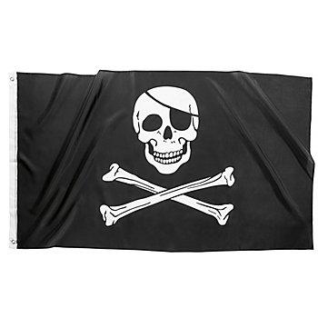 Drapeau de pirate, 150 x 90 cm