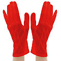 "Handschuhe ""Claire"", rot"