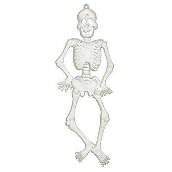 Set 'squelette', phosphorescent, 15 cm, 6 pièces