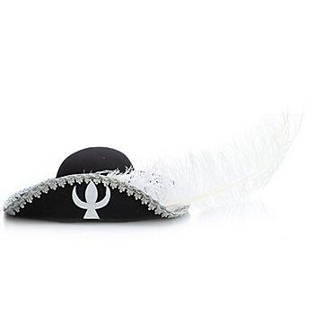 Musketier-Hut 'Edler Kämpfer', schwarz