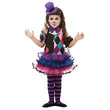 Clown-Kostüm 'Raute' für Kinder