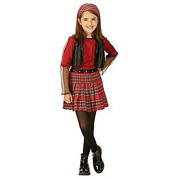 Punk-Girl-Kostüm 'Lexie' für Kinder