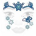 """Face-Art-Tattoo """"Eiszeit"""""""