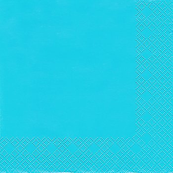 Papierserviette, blau, 33 x 33 cm, 20 Stück