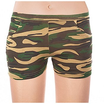 Hotpants 'Camouflage'