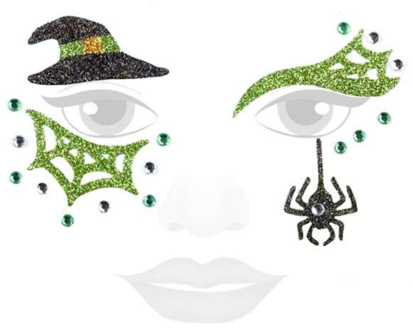Face Art Tattoo Hexe Online Kaufen Buttinette Karneval Shop