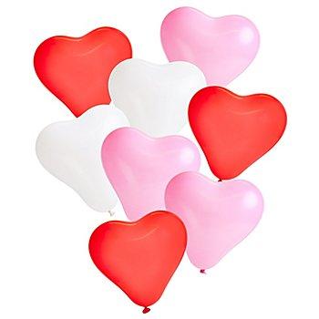 Luftballon 'Herzchen', 8 Stück