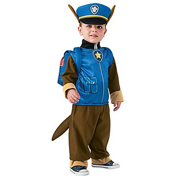 nickelodeon Déguisement 'Chase - de la Pat' Patrouille' pour enfants, bleu/marron/ocre