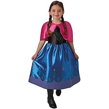 Disney Déguisement 'Anna' pour enfants, bleu/rose vif