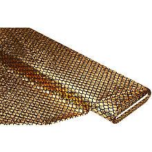 Folienjersey 'Schuppen', gold