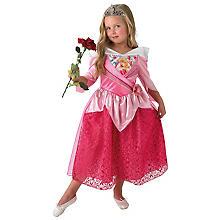 Disney Déguisement Aurore pour enfants, rose/rose vif