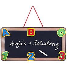 3D-Schild 'ABC', 55 x 28 cm