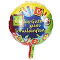 """Folienballon """"Schulanfang"""", Ø 45 cm"""