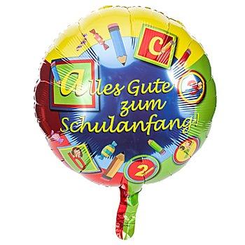 Folienballon 'Schulanfang', Ø 45 cm
