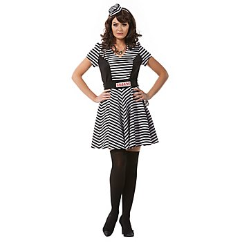 buttinette Sträflingskleid 'Bonnie'