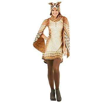 buttinette Eule-Kostüm für Damen
