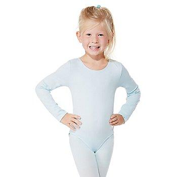 Langarmbody 'Hellblau' für Kinder