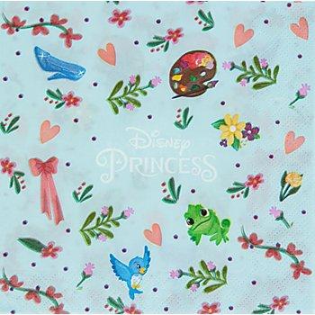 Disney Serviettes 'princesse', 33 x 33 cm, 20 pièces