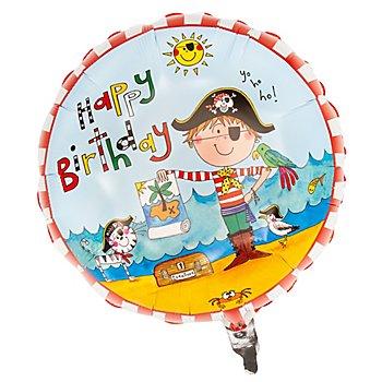 Folienballon 'Pirat', 46 cm Ø