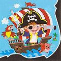 """Papierserviette """"Piratenparty"""", 33 x 33 cm, 20 Stück"""