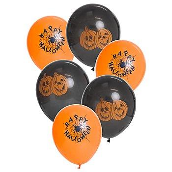 Luftballon 'Halloween', 6 Stück