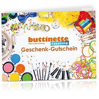 Geschenk-Gutschein 'Fasching & Mottopartys'